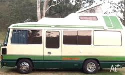 Toyota Coaster 4.2 Lt. turbo diesel deluxe hightop