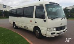 2009 TOYOTA COASTER BUS AUTOMATIC TRANSMISSION AIR