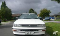 1993 TOYOTA COROLLA CSI Limited Edition,4D Sedan, Auto,
