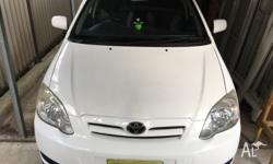 2005 Toyota Corolla ascent for sale, immaculate