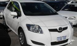 TOYOTA,COROLLA,ZRE152R,2007, FWD, WHITE, 5D HATCHBACK,