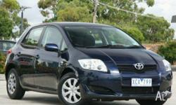 TOYOTA,COROLLA,ZRE152R MY09,2009, FWD, Blue, 5D