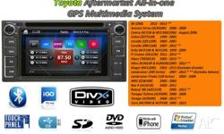 Head Unit replacement for Toyota most make and model