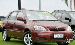 TOYOTA,COROLLA,ZZE122R,2005, FWD, Red, 5D HATCHBACK,