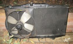TOYOTA COROLLA RADIATOR REMOVED FROM AE92 MODEL SUITS