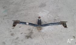 I have a genuine toyota corolla sedan towbar for a 1996