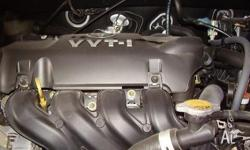 toyota echo 2001 vvti engine. manual transmission 44