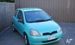 1999 Toyota Echo. 3 door manual hatch. Just serviced,