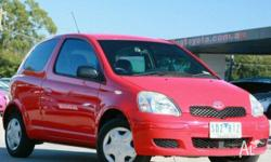 TOYOTA,ECHO,NCP10R,2003, FWD, Red, 3D HATCHBACK,