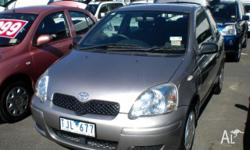 TOYOTA, Echo, NCP10R MY03, 2005, Front Wheel Drive,