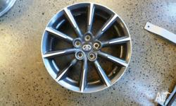 "Set of 4 GT86 OEM wheels. Size 16"" and 5x100 PCD so"