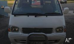 2002 Toyota hiace has just had a new clutch and both