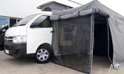 Newly converted Toyota Hiace Discoverer Automatic Twin