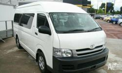 TOYOTA,HIACE,TRH223R MY07 UPGRADE,2008, RWD, White,