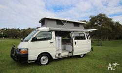2000 Toyota Hiace Campervan 2.4 litre EFI Only
