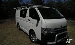 2007 Toyota Hiace LWB 6.0 One owner (lady) New tyres