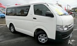 TOYOTA,HIACE,TRH201R MY08,2007, Rear Wheel Drive,