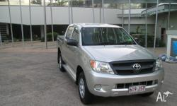 4WD, it is a SR model, 4L petrol engine but would not