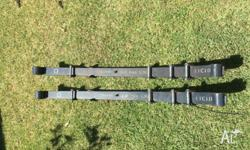 Old Man Emu Dakar rear leaf springs, medium load to