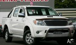 TOYOTA,HILUX,GGN25R 06 UPGRADE,2007, 4x4, White, GREY