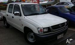TOYOTA,HILUX,RZN149R MY04,2004, Pearl White, UTILITY,