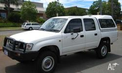 TOYOTA, HILUX, 2002, 4dr DUAL CAB P/UP, 3, 4cyl, 5sp