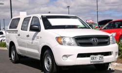 TOYOTA,Hilux,GGN15R MY07,2006, Rear Wheel Drive,