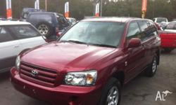 TOYOTA,KLUGER,MCU28R UPGRADE,2006, 4WD, maroon, 4D