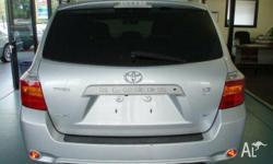 TOYOTA,KLUGER,GSU45R,2008, 4WD, Silver, Grey Leather