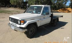 Make: Toyota Model: Land Cruiser Mileage: 184,000 Kms
