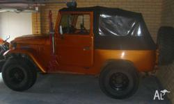 FJ40 Shorty Soft Top Engineered fresh rebuilt 350 Chev