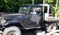 this landcruiser is a 1984 fj 45 and is fitted with a