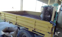 Steel tray and sides still on a 1984 HJ47 ute, will fit