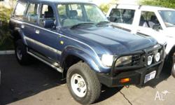 TOYOTA, LANDCRUISER, 2000, 4dr WAGON, 4.2, 6cyl, 5sp