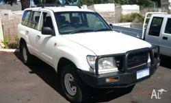 TOYOTA,LANDCRUISER,2004, 4D WAGON, 4.2, 6cyl, MANUAL