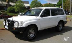 TOYOTA, LANDCRUISER, 2005, 4dr WAGON, 4.2, 6cyl, 5sp