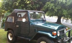 RARE OPPORTUNITY To purchase FJ40 CONVERTIBLE