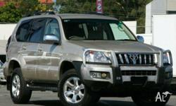 TOYOTA,LANDCRUISER,KDJ120R 07 UPGRADE,2008, 4WD, Gold,