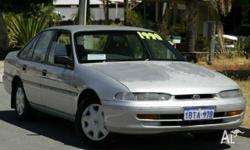 TOYOTA, Lexcen, VS, 1997, Rear Wheel Drive, Silver,