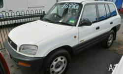 TOYOTA, RAV4, 2.0, 1995, White, WAGON, PETROL, MANUAL,