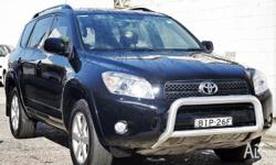 TOYOTA, RAV4, ACA33R MY08, 2008, 4X4 On Demand, BLACK,
