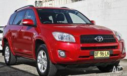 TOYOTA, RAV4, ACA33R MY09, 2010, 4X4 On Demand,