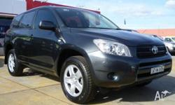 TOYOTA, RAV4, ACA33R, 2006, 4X4 On Demand, Storm Grey,