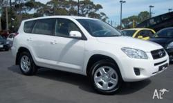 TOYOTA, RAV4, ACA33R MY09, 2009, 4X4 On Demand, WHITE,