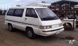 TOYOTA TARAGO 85 86 87 model all parts available