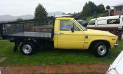 Great ute in good condition very well looked after