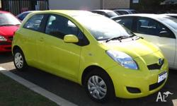TOYOTA,YARIS,2009, 3D HATCHBACK, 1.3, 4cyl, 5 SP
