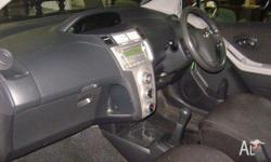 TOYOTA,YARIS,NCP90R,2007, FWD, WHITE, 3D HATCHBACK,