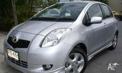 TOYOTA,YARIS,NCP91R,2007, FWD, SILVER, 5D HATCHBACK,
