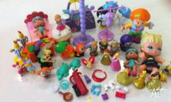 Bulk lot of small toys. Various bits and pieces. Sell